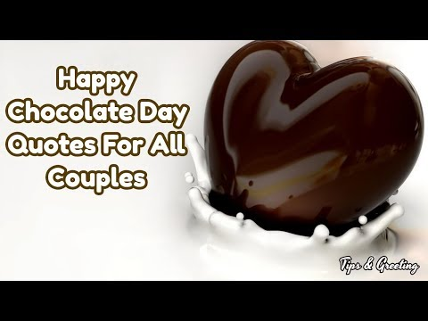 Happy quotes - Happy chocolate Day Quotes For All Couples  Beautiful Quotes For Love