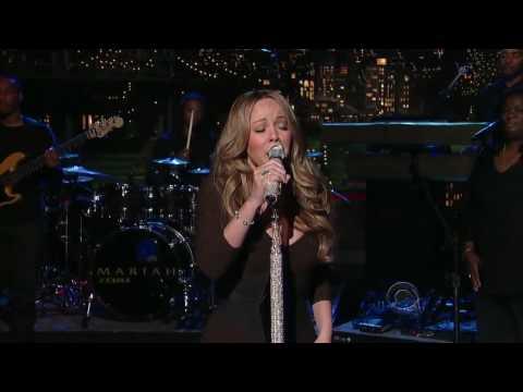 [HD] Mariah Carey - H.A.T.E.U. Live at David Letterman 2009