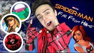 TODO SOBRE SPIDERMAN: FAR FROM HOME / NAVY