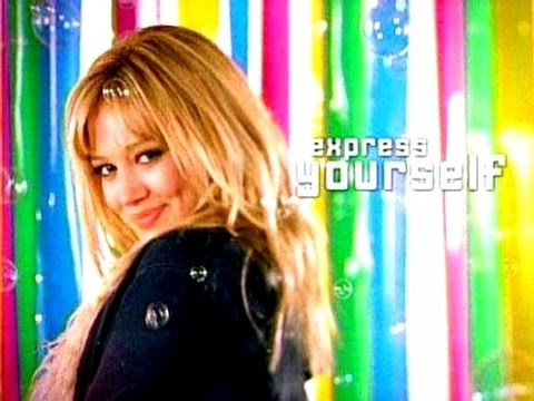 Disney Channel's Express Yourself (Old School Disney Channel Commercials)