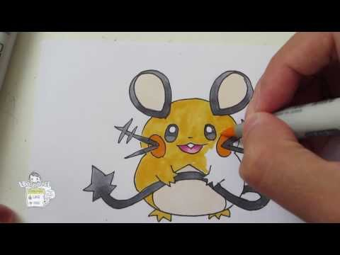 How to draw Pokemon: No.239 Elekid, No.125 Electabuzz, No.466