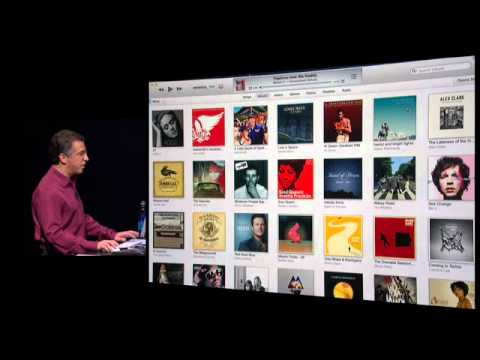 iTunes 11 introduction September 2012