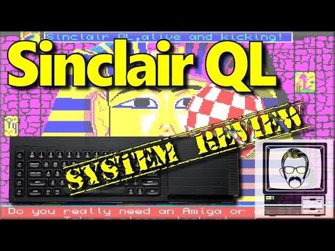 Sinclair QL System Review & Story | Nostalgia Nerd