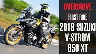 5. 2018 SUZUKI V-STROM 650 XT - First Ride | OVERDRIVE