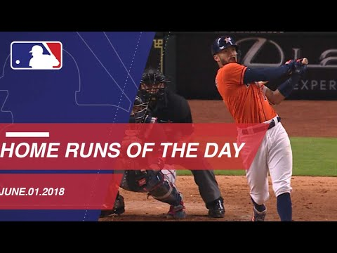 Every home run for June 1, 2018