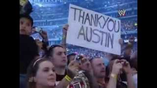 Wrestlemania 25 Stone Cold steve austin tribute
