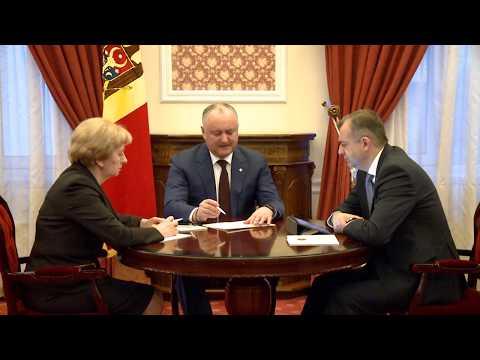 Игорь Додон, Зинаида Гречаный и Ион Кику провели еженедельное совещание
