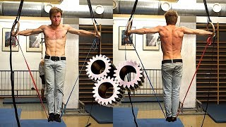 Ring/TRX Session For Semi Strongs : Upper Body + Core Progression | Intermediate Exercises by Mani the Monkey