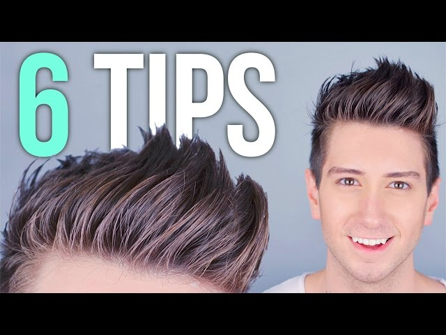 Tips For Styling Tall Hair Mens Hairstyles