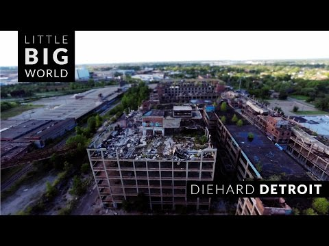 Diehard Detroit  nbsp A Wonderful TiltShift TimeLapse of