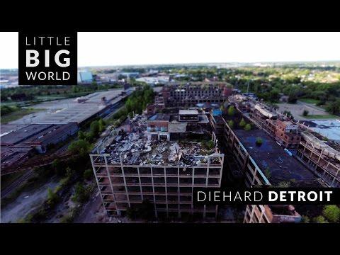 Diehard Detroit  nbsp A Wonderful TiltShift TimeLapse of