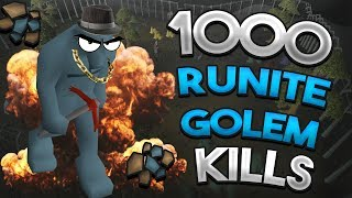Video Loot From 1,000 Runite Golems MP3, 3GP, MP4, WEBM, AVI, FLV Mei 2019