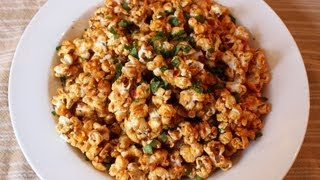 """Pad Thai"" Popcorn! Sweet & Spicy ""Pad Thai"" Flavored Caramel Popcorn - YouTube"