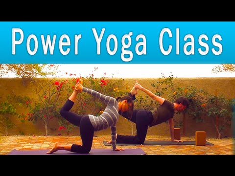 Power Yoga Workout for Weight Loss (1 hour)