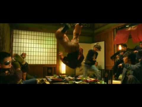 Dragon Tiger Gate Restaurant Fight Scene