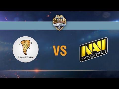 Brain Storm vs Natus Vincere G2A - day 2 week 2 Season II Gold Series WGL RU 2016/17