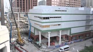 Bridge Removal St. Louis Shopping Center Time-lapse Part 2 1 minute version