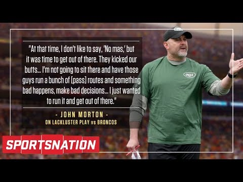 Was Jets offensive coordinator too honest about tanking? | SportsNation | ESPN