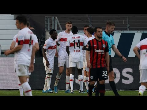 Eintracht Frankfurt 1 - 1 Stuttgart | All goals and highlights 06.03.2021 German… видео