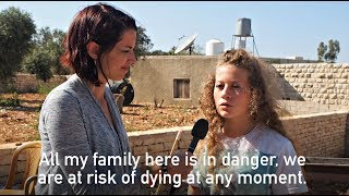 Abby Martin Meets Ahed Tamimi - Message From A Freedom Fighter