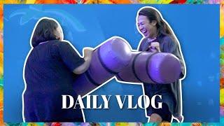 Video BELANJA BULANAN + MAIN TRAMPOLINE - Daily Vlog Ep. 52 || Jovi Hunter MP3, 3GP, MP4, WEBM, AVI, FLV Januari 2019