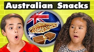 Video KIDS TRY AUSTRALIAN SNACKS | Kids Vs. Food MP3, 3GP, MP4, WEBM, AVI, FLV Desember 2018