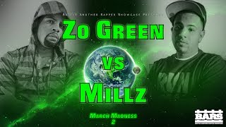 BARS Battle League | Zo Green vs. Millz