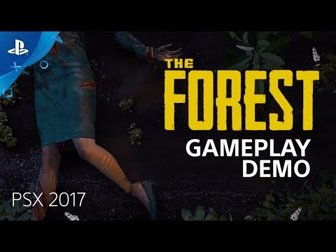 The Forest : 15 minutes de Gameplay à la PSX 2017 de The Forest
