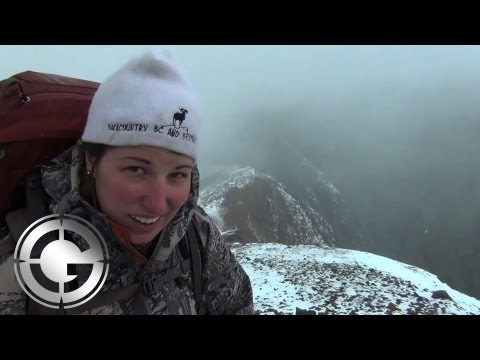 On a British Colombia Stone Sheep Hunt With Heather & Dustin - Long Range Hunting
