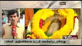 Organic Agricultural scientist Nammazhwar passes away