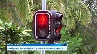 Itapetininga: semáforo tecnológico ajuda a reduzir riscos