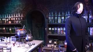 Filmed at the Harry Potter Studio Tour just outside London, UK