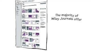 One of our publishers, Wiley, has produced a short video for authors which runs through some of the key issues regarding open access.