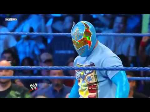 Sin Cara Attacks Chavo Guerrero - WWE SmackDown 5/20/11