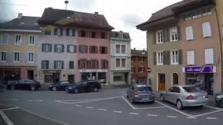 Bex Switzerland  city photos : Bex - Gryon - Villars-sur-Ollon Train Ride (Switzerland)