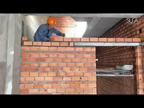 Các bước xây tường gạch đúng kỹ thuật, chất lượng