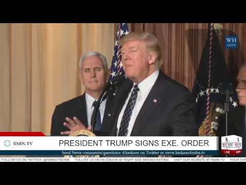 President Trump Signs an Energy Independence Executive Order
