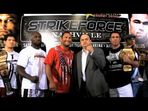 Strikeforce Nashville Preview with JV New Interviews with all Fighters