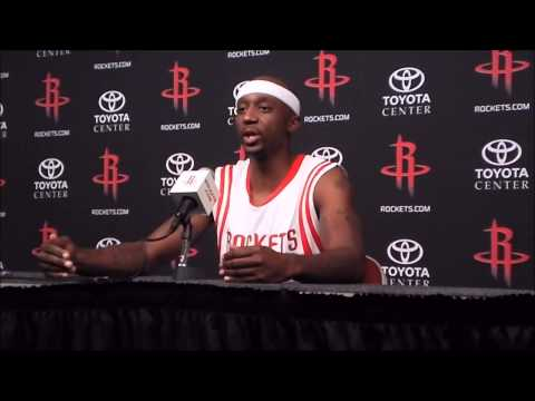 Jason Terry Full Houston Rockets Interview - Media Day 2014