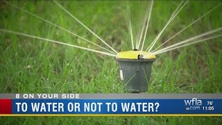 Drought has Tampa Bay area homeowners double-checking watering...