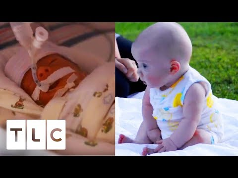 From Newborn Babies To Their First Massive Milestone! | Sweet Home Sextuplets