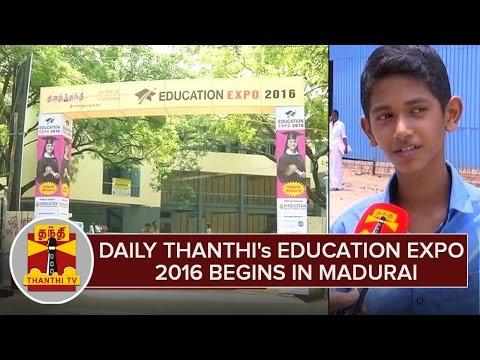 Daily-Thanthis-Education-Expo-2016-Begins-in-Madurai--Thanthi-TV