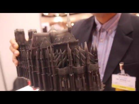 OWL WORKS 3D Prints Notre Dame Cathedral