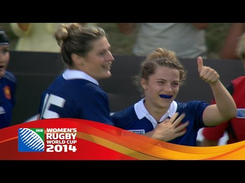 Women's World Cup: Top 5 tries from day one