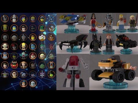 LEGO Dimensions FR - Les Personnages (360° cam)