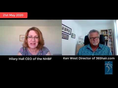 Ken West, Director of 3∙6∙5 Salon Education and Hilary Hall CEO of the NHBF in Conversation