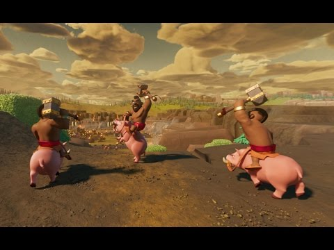 Clash Of Clans: Hog Rider 360 °
