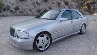 Mercedes C43 AMG w/ 5.5L Swap - (One Take) by The Smoking Tire