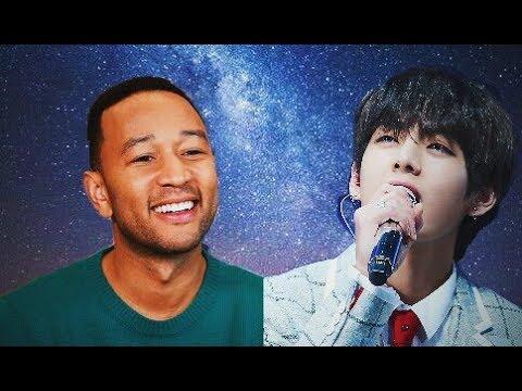 Everybody loves V Taehyung part 24 [John Legend, HaHa, Zhou Mi, Eric Nam, Amber, i11evn, BTS]