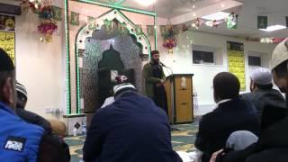 Naat of Aaala Hazrat rahmatullah alayh recited by Muhammad Hammad in milaad sharif gathering.